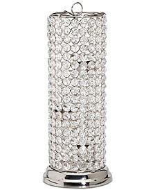 "Godinger Lighting by Design Glam Crystal 13"" Tealight Holder"