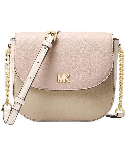 Michael Kors Half Dome Crossbody - Handbags   Accessories - Macy s 709097101c2c