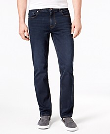 Men's St. Marks Stretch Slim-Fit Straight-Leg Jeans, Created for Macy's