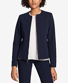 Tommy Hilfiger Lace-Up Blazer