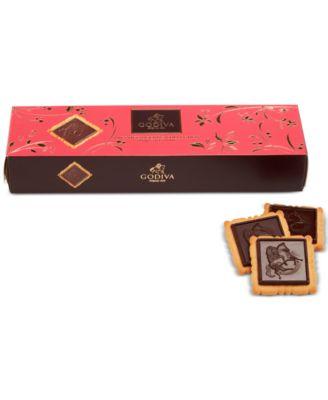 Lady Godiva 12-Pc. Dark Chocolate Biscuits