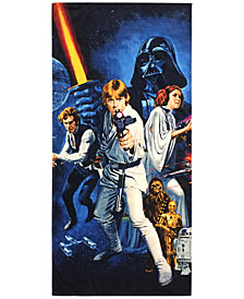"Jay Franco Star Wars Classic Cotton 28"" x 58"" Beach Towel"