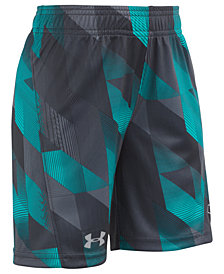 Under Armour Electric Fields Booster Shorts, Little Boys