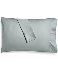 Martha Stewart Collection Solid Open Stock 400 Thread Count King Pillowcase, Created for Macy's