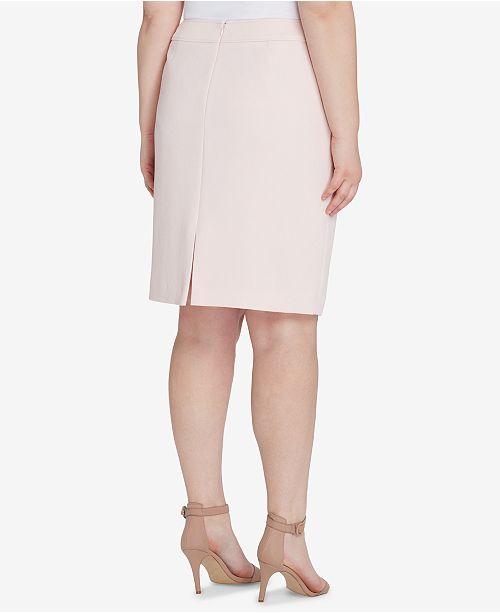 51e13968ce Tahari ASL Plus Size Pencil Skirt & Reviews - Skirts - Women - Macy's