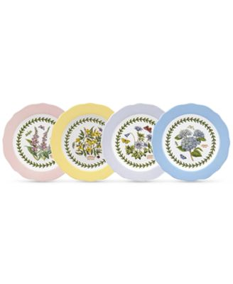 Portmeirion Dinnerware Set of 4 Botanic Garden Terrace Assorted Dessert Plates  sc 1 st  Macy\u0027s & Portmeirion Dinnerware Set of 4 Botanic Garden Terrace Assorted ...