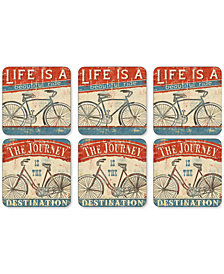 Pimpernel Beautiful Ride Coasters, Set of 6