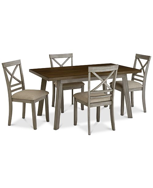 86b75de2bfaf ... Furniture Fairhaven Dining Furniture, 5-Pc. Set (Table & 4 Side Chairs  ...