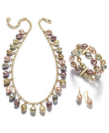 Charter Club Gold-Tone Imitation Pearl Jewelry Separates, Created for Macy's