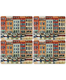 Boat Scene Placemats, Set of 4