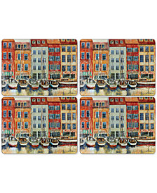 Pimpernel Boat Scene Placemats, Set of 4
