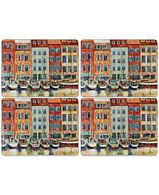 Pimpernel Boat Scene Placemats, Set of 4