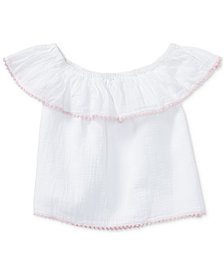 Polo Ralph Lauren Cotton Top, Toddler Girls