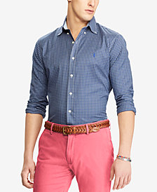 Polo Ralph Lauren Men's Slim-Fit Easy-Care Shirt