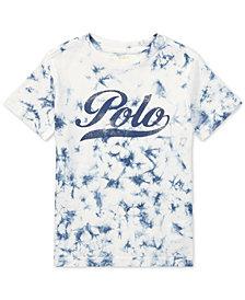 Polo Ralph Lauren Dyed Cotton T-Shirt, Little Boys
