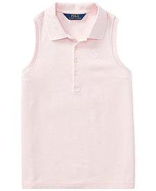 Polo Ralph Lauren Racerback Polo Shirt, Big Girls