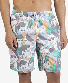 Neff Men's Duck Print Hot Tub Shorts