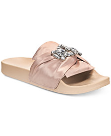 Kenneth Cole Reaction Women's Pool Jewel Flat Sandals