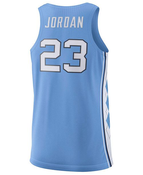 buy popular 6ace0 63e55 Men's Michael Jordan North Carolina Tar Heels Authentic Basketball Jersey