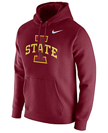 Nike Men's Iowa State Cyclones Cotton Club Fleece Hooded Sweatshirt