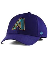 Sport Mlb Brand 47 Basecap Baseballcap Arizona Diamondbacks Rot Logo Slouch Hat