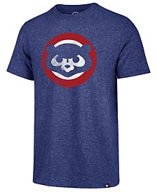 '47 Brand Men's Chicago Cubs Coop Triblend Match T-Shirt