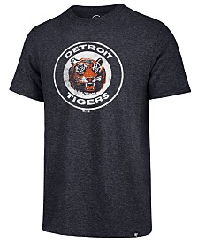 '47 Brand Men's Detroit Tigers Coop Triblend Match T-Shirt