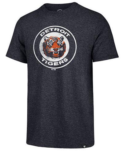 '47 Brand Men's Detroit Tigers Coop Triblend Match T-Shirt