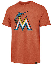 '47 Brand Men's Miami Marlins Coop Triblend Match T-Shirt