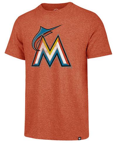 '47 Brand Men's Miami Marlins Coop Triblend Match T-Shirt