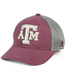 adidas Texas A&M Aggies Heathered Team Flex Cap