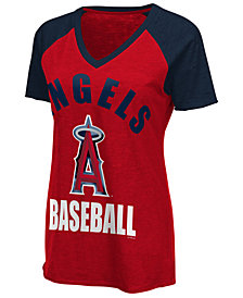 G-III Sports Women's Los Angeles Angels Game On T-Shirt