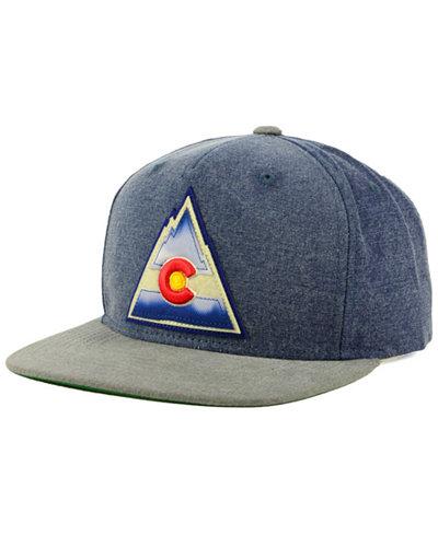 CCM Colorado Rockies 2Tone Snapback Cap