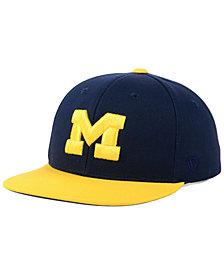 Top of the World Boys' Michigan Wolverines Maverick Snapback Cap