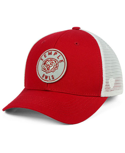 Top of the World Temple Owls Coin Trucker Cap