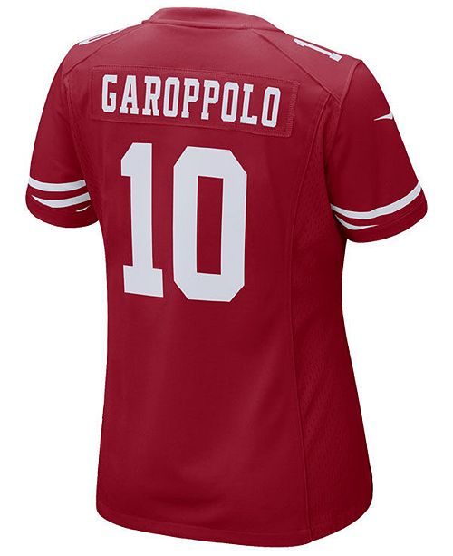 new arrival 7903c a76ed Women's Jimmy Garoppolo San Francisco 49ers Game Jersey