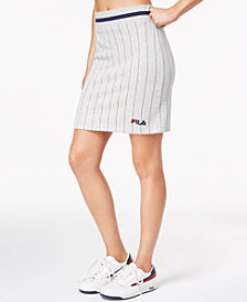 Fila Francesca Pinstriped Skirt