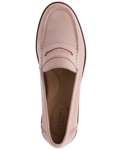 ada07757850c Sperry Women s Seaport Penny Memory Foam Loafers   Reviews - Flats ...