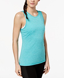 Heathered Keyhole-Back Tank Top, Created for Macy's