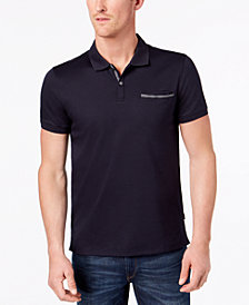 Calvin Klein Men's Liquid Touch Pocket Polo