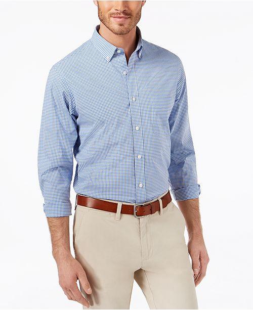 704dcdc1a ... Club Room Men s Classic-Fit Stretch Mini-Gingham Shirt