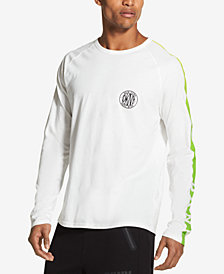DKNY Men's Long-Sleeve Graphic-Print T-Shirt