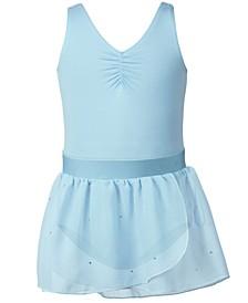 Blue Leotard & Blue Dance Skirt Separates, Toddler, Little & Big Girls