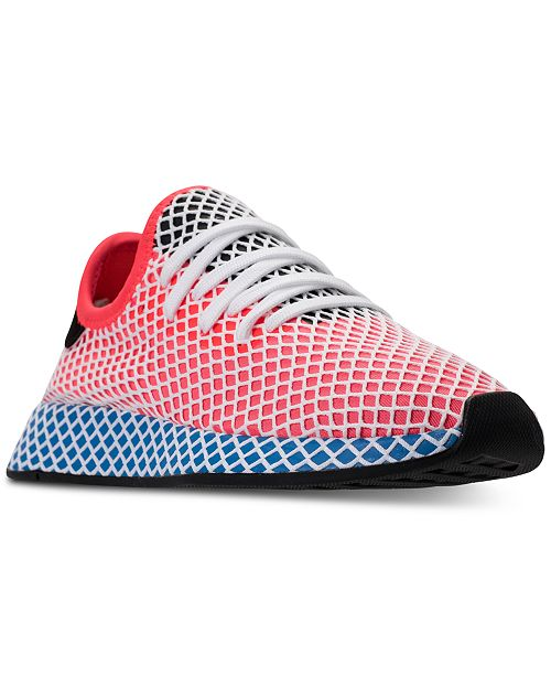 uk availability 7c9f7 cf7d9 ... adidas Mens Deerupt Hero Runner Casual Sneakers from Finish ...