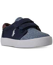 Polo Ralph Lauren Toddler Boys' Olan EZ Casual Sneakers from Finish Line