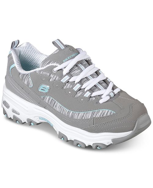 Skechers Women's D'Lites - Interlude Walking Sneakers from Finish Line aS0G91Rk