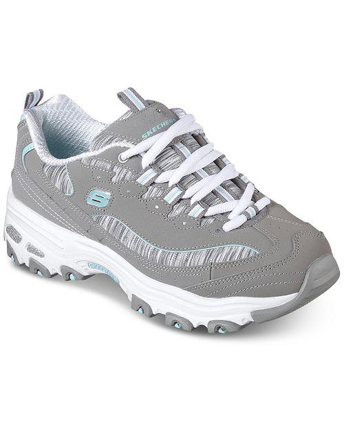 7c14d54223a6 ... Skechers Women s D-Lites - Interlude Walking Sneakers from Finish ...