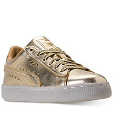 Puma Little Girls' Suede Casual Sneakers from Finish Line
