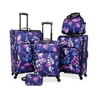 5-Piece Tag Daytona Luggage Set (Multi Color)