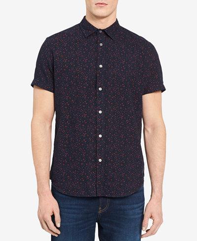 Calvin Klein Jeans Men's Geometric Shirt